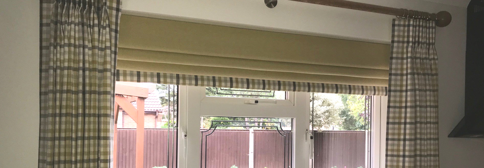 image of blinds and a window